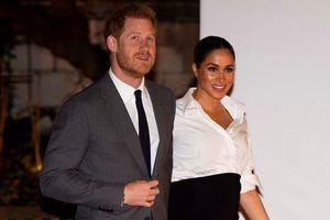 El príncipe Enrique de Reino Unido, duque de Sussex, y su esposa Meghan, duquesa de Sussex.