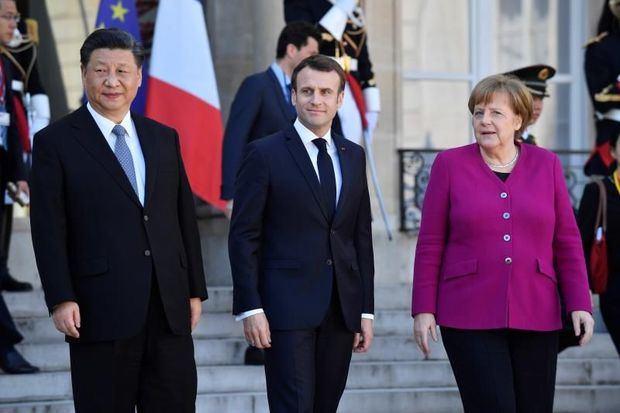 Juncker, Macron y Merkel unen fuerzas para equilibrar la relación con China