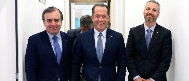 Directivos de la empresa española ABANCA.