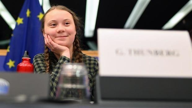 """Thunberg, a la UE: """"Nuestra casa se desmorona, el futuro está en sus manos"""""""