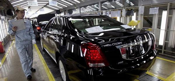 Producción de vehículos chinos