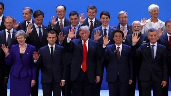 El G20 rompe una lanza en pro del comercio y firma sin Trump un compromiso por el clima