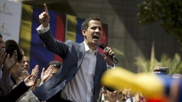 El presidente de la opositora Asamblea Nacional de Venezuela, Juan Guaidó.