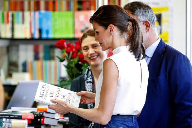 La reina Letizia inaugura la Feria del Libro de Madrid dedicada a la República Dominicana