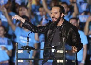 Empresario Nayib Bukele, nuevo presidente de El Salvador.