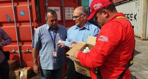 Llegan a Venezuela 933 toneladas de medicinas procedentes de Cuba y China