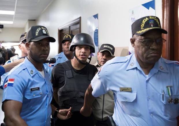 Imponen 1 año prisión preventiva a 9 acusados de participar en ataque a David Ortiz