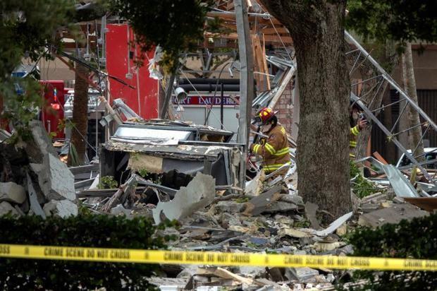 Veintiún heridos en una explosión en un centro comercial del sur de Florida