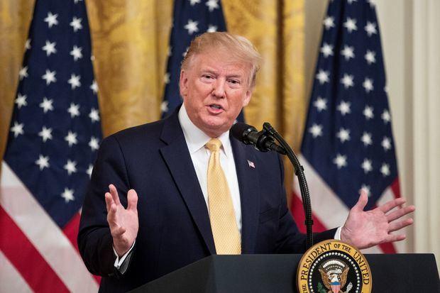 """Trump llama """"racistas"""" a las congresistas a las que pidió """"volver a su país"""""""
