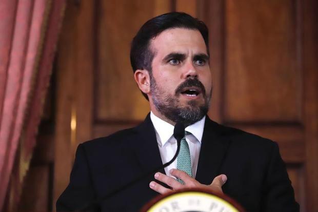 gobernador de Puerto Rico, Ricardo Rosselló.