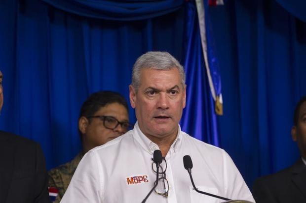 El ministro de Obras Públicas y Comunicaciones de República Dominicana, Gonzalo Castillo, quien anunció este miércoles su renuncia al cargo para competir por la candidatura a la Presidencia del país en las elecciones de 2020.