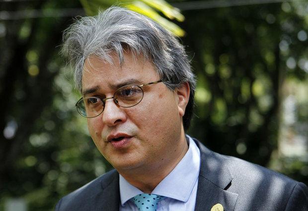El director regional de la Oficina de Coordinación para el Desarrollo de la ONU (UNDCO), Christian Salazar.