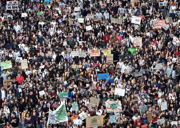 Un millón de personas se manifiestan en Italia en defensa del medio ambiente