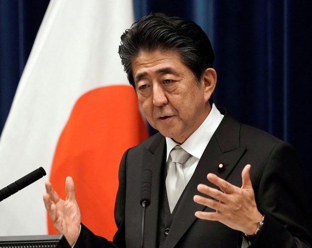 Abe expresa su