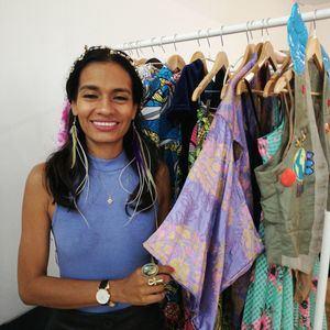 Yaosca Jiménez apuesta por la moda sostenible.
