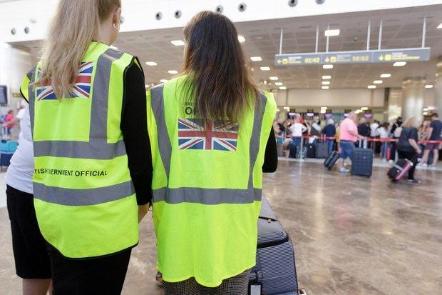 El Reino Unido, cerca de completar la repatriación de los turistas británicos