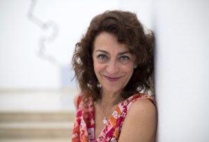 La artista española Carmen París posa para Efe durante una entrevista este lunes, en Santo Domingo (República Dominicana).