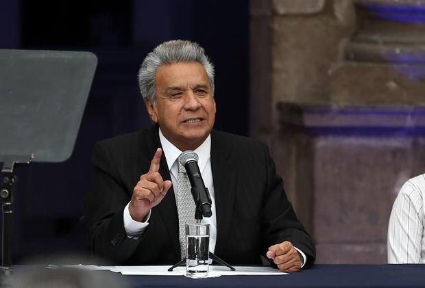 Presidente de Ecuador, Lenin Moreno.