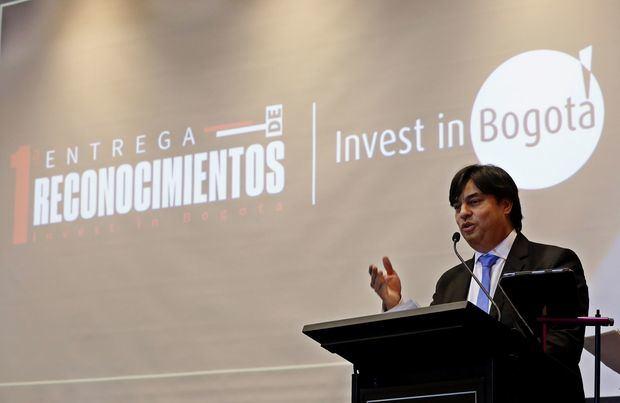 En la imagen, el director de la agencia Invest in Bogota, Juan Gabriel Pérez.