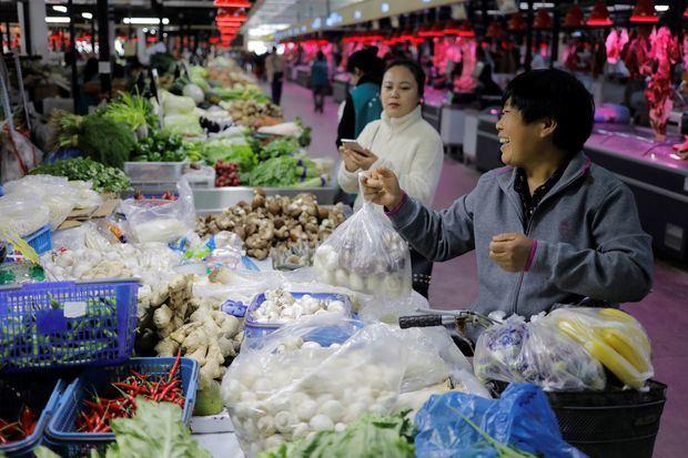 Los precios siguen tendencia alcista en China y crecen un 3 % en septiembre.