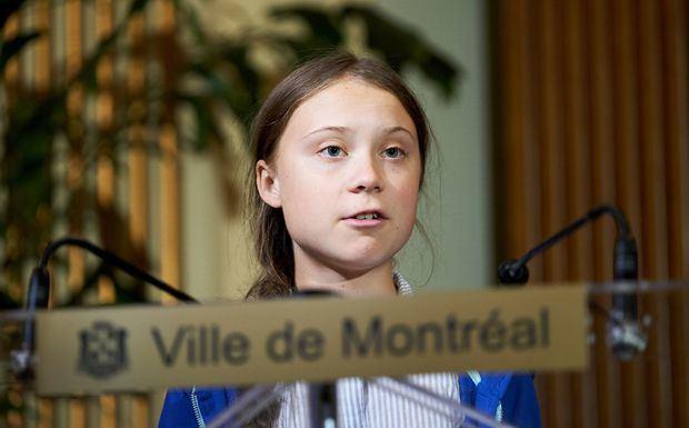 Greta Thunberg se manifiesta en Canadá contra la industria petrolífera