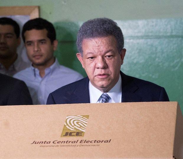 En la imagen, el expresidente dominicano Leonel Fernández.