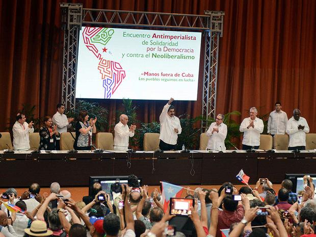 Maduro y Díaz - Canel llaman a aprovechar el repunte de la izquierda en Latinoamérica