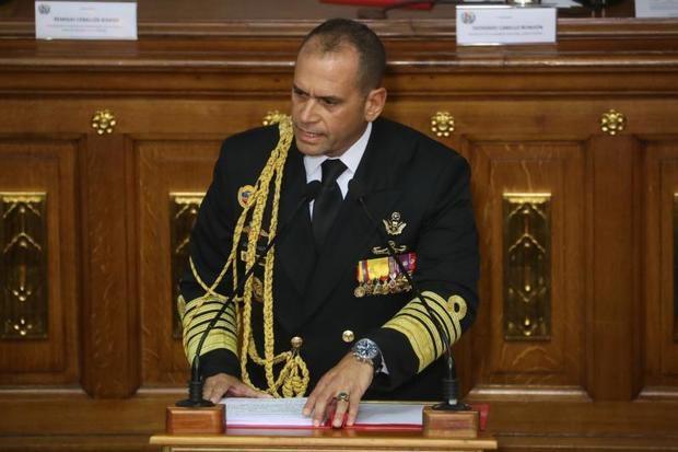 En la imagen, Remigio Ceballos Ichaso, comandante del comando estratégico operacional de las Fuerzas Armadas de Venezuela.