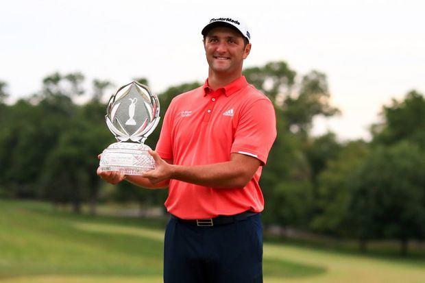 El español Jon Rahm se proclamó este domingo campeón del torneo Memorial del PGA Tour.