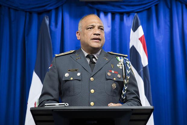 El vocero de la Policía nacional de República Dominicana, Frank Félix Durán.