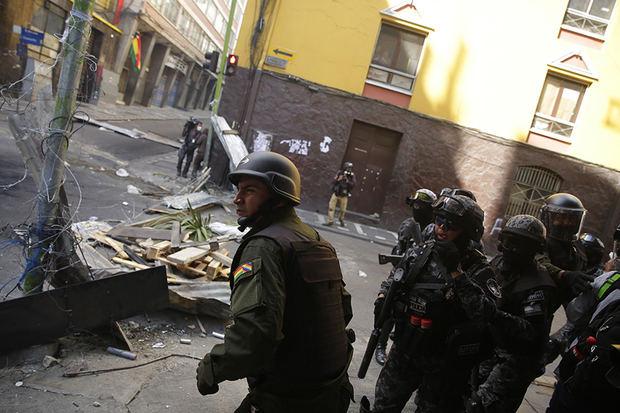 La CIDH condena los muertos, las amenazas a periodistas y el papel de los militares en Bolivia