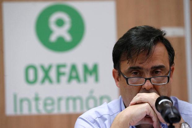 Imagen del secretario general de OXFAM, José María Vera.