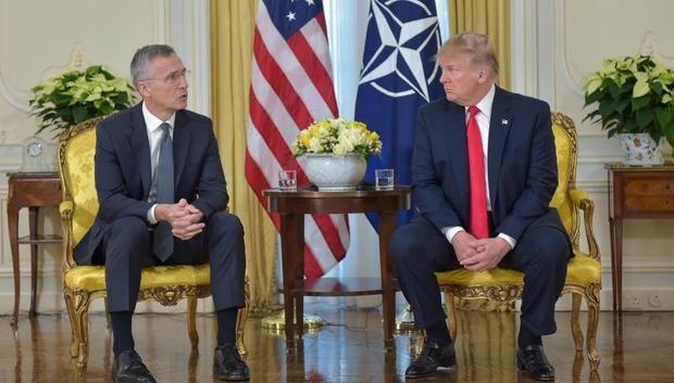 El enfrentamiento entre Trump y Macron, en el comienzo de la cumbre de la OTAN