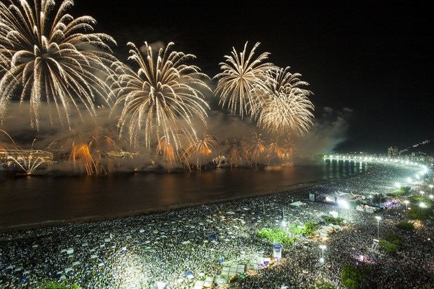 Río espera superar el récord de 2,8 millones de personas en la fiesta de año nuevo