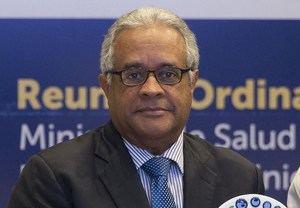 En la imagen un registro del ministro de Salud de República Dominicana, Rafael Sánchez Cárdenas, quien presidió el lanzamiento de la campaña 'El poder de la Atención Primaria para los servicios de Salud Mental en la República Dominicana'.