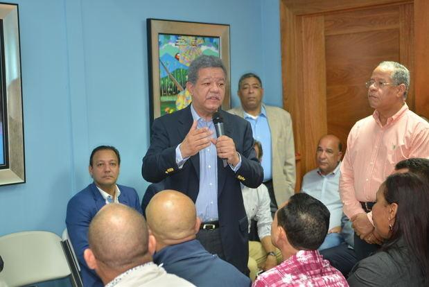 Leonel Fernández dice PLD acudirá unido a comicios del 2020