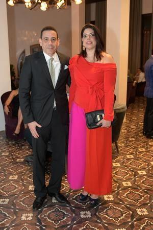Gamaliel Pichardo y Claudia Laso.