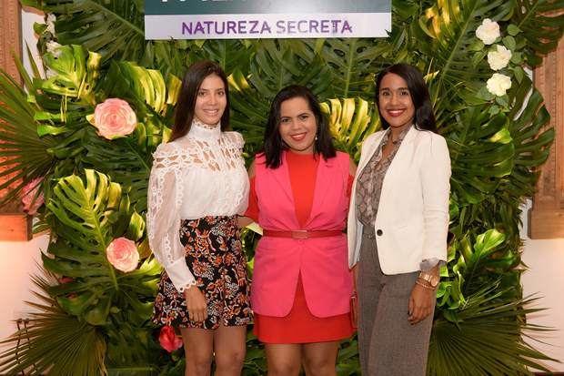 Yirandy González, Marielle Araujo y Nicole Sánchez.