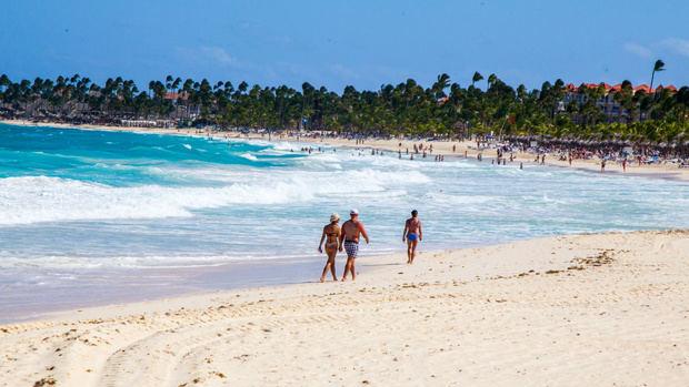 Playa del país.