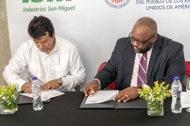 Industrias San Miguel y USAID promoverán desarrollo sostenible región Noroeste