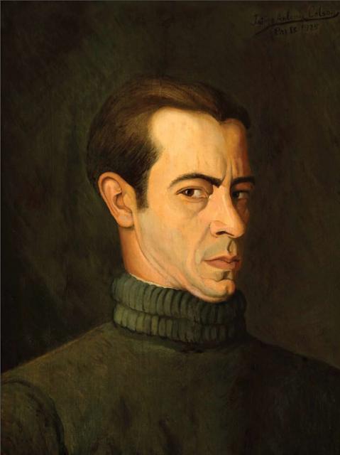 Autorretrato de Jaime Colson. Museo Bellapart, Santo Domingo.