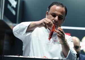 El cocinero Ángel León, chef del restaurante gaditano Aponiente, con tres estrellas Michelín.