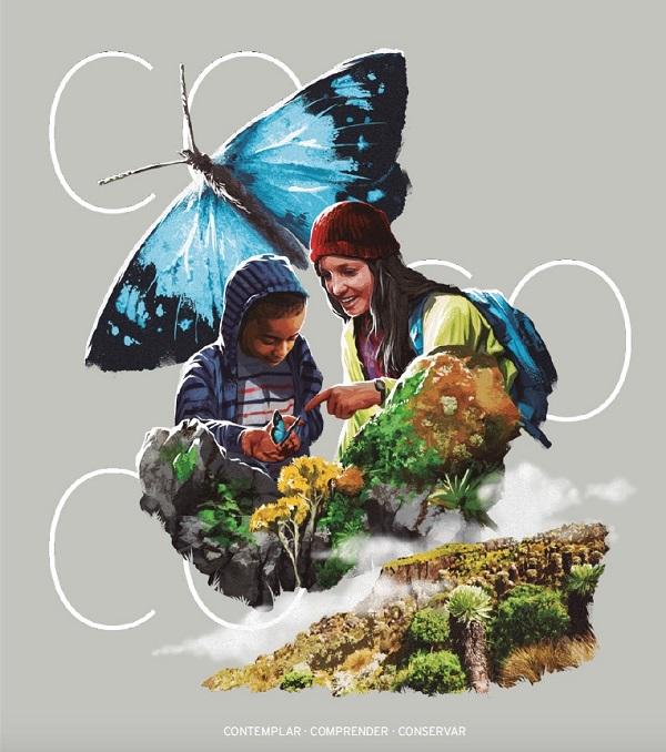 Campaña 'COntemplar, COmprender, COnservar: Manual ilustrado para guías de turismo de naturaleza en Colombia'.