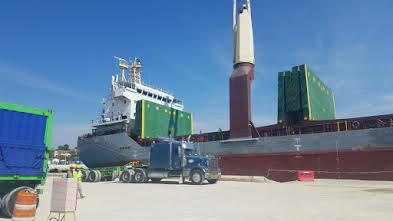 Minera Belfond exporta 8 mil toneladas métricas de carbonato de calcio hacia los EE.UU.