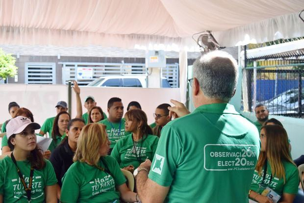 Participación Ciudadana solicita a JCE acreditación 1,800 observadores