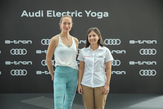 Audi República Dominicana ofrece a clientes una experiencia Electric Yoga