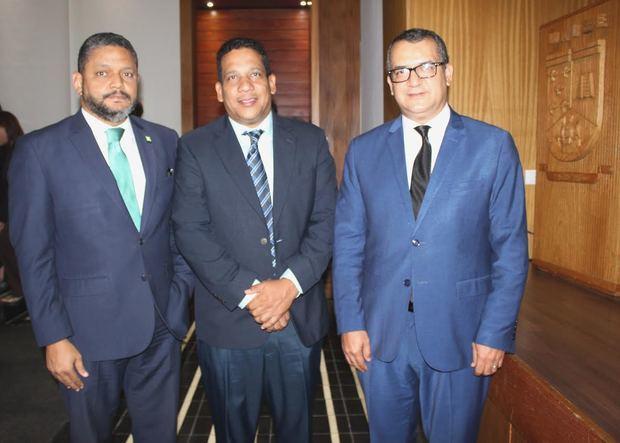 Heiromy Castro, Boris Barrios y Román Jáquez.