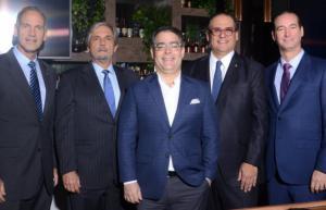 Bernardo González Del Rey, Angel del Valle, Ernesto Selman, Ramón Omar Alma y Federico Reyes.