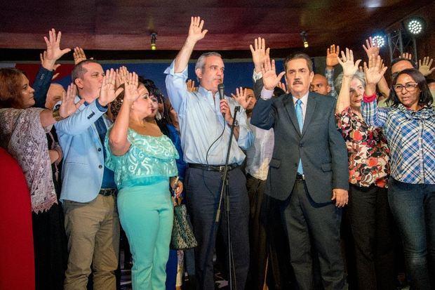 Luis Abinader Juramenta Frente Cultural.