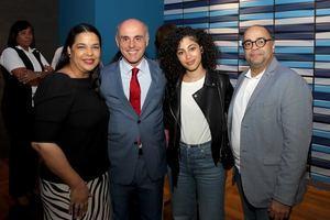 Yvette Marichal, Alejandro Abellan Mina, El Hammani y Omar de la Cruz.